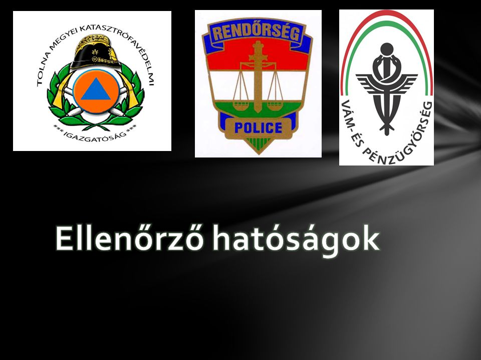 Ellenőrző hatóságok