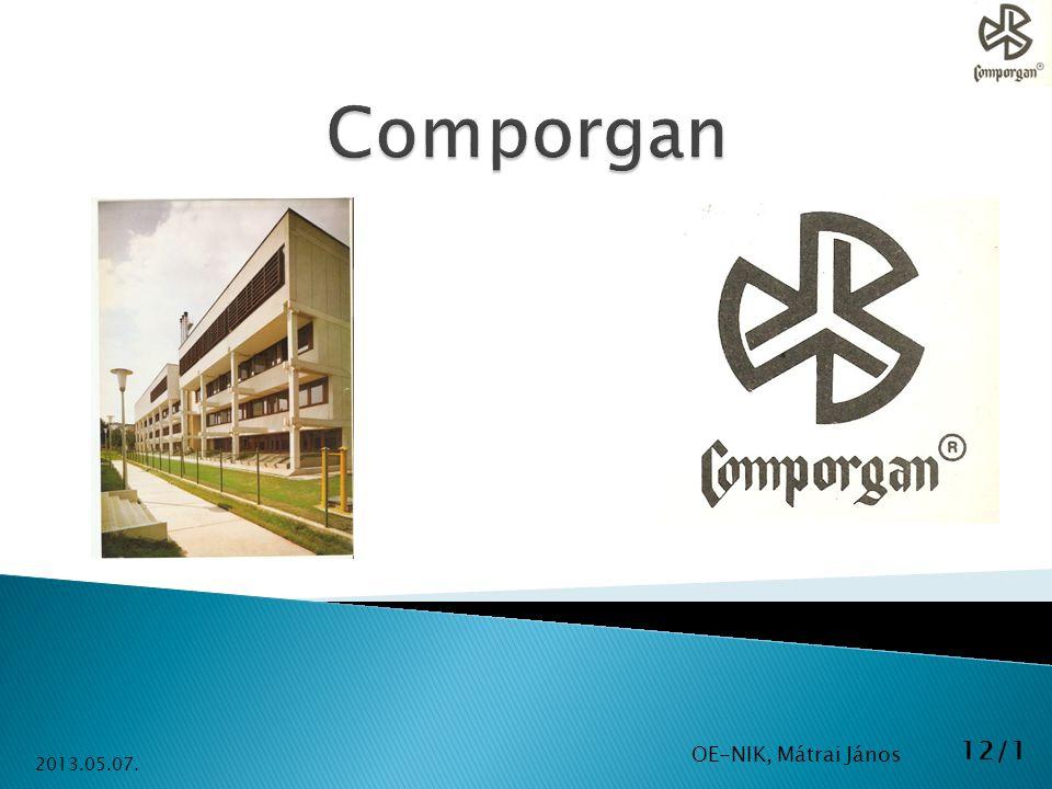 Comporgan OE-NIK, Mátrai János 2013.05.07.
