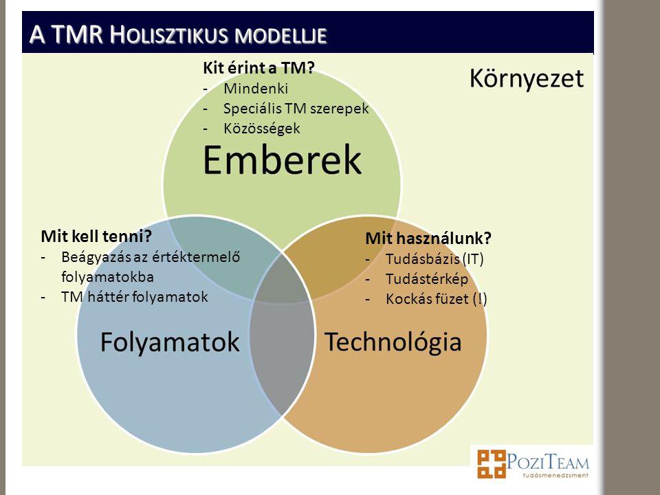 A TMR Holisztikus modellje