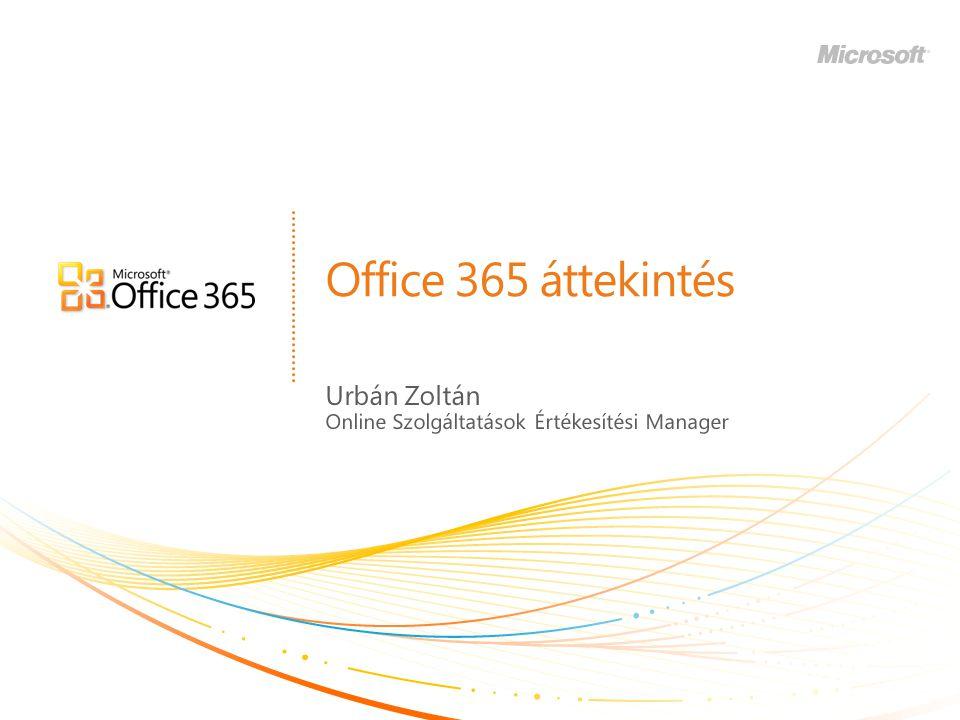 Urbán Zoltán Online Szolgáltatások Értékesítési Manager