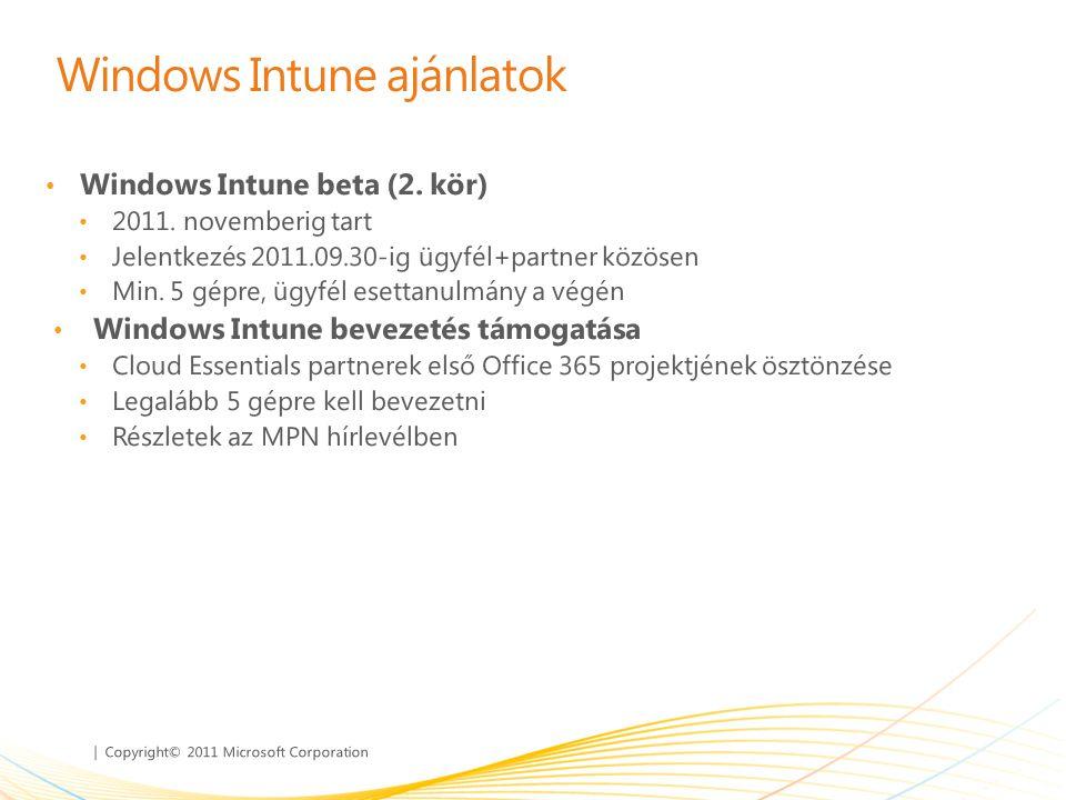 Windows Intune ajánlatok