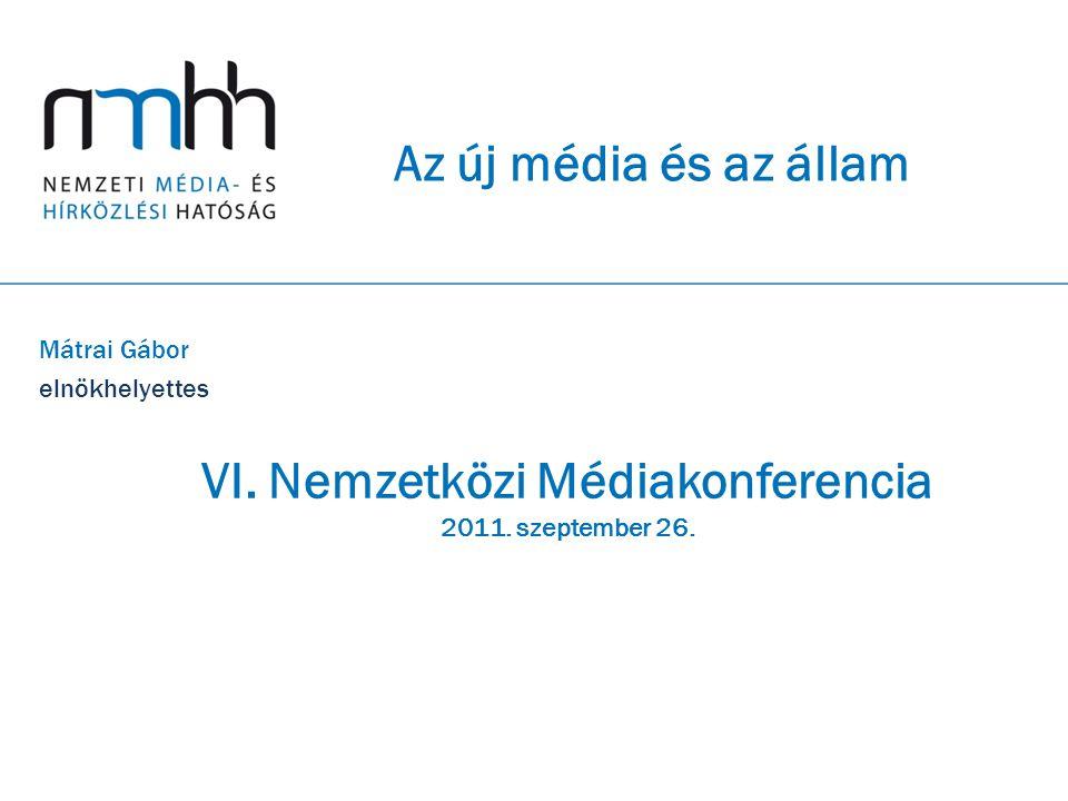 VI. Nemzetközi Médiakonferencia