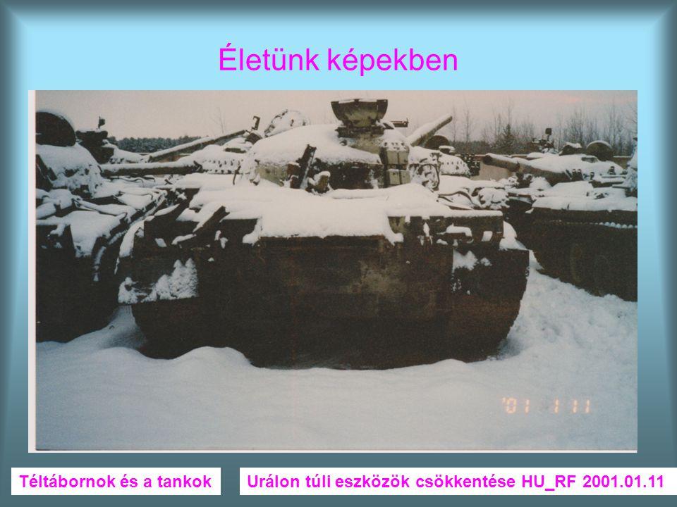 Életünk képekben Téltábornok és a tankok
