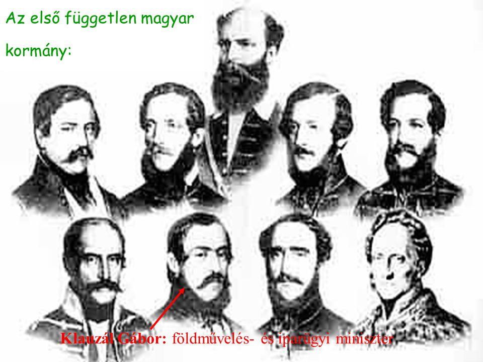 Az első független magyar kormány: