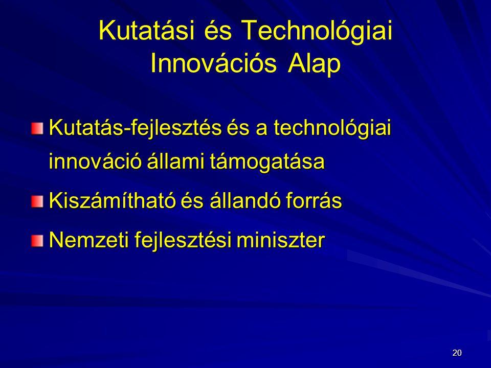Kutatási és Technológiai Innovációs Alap