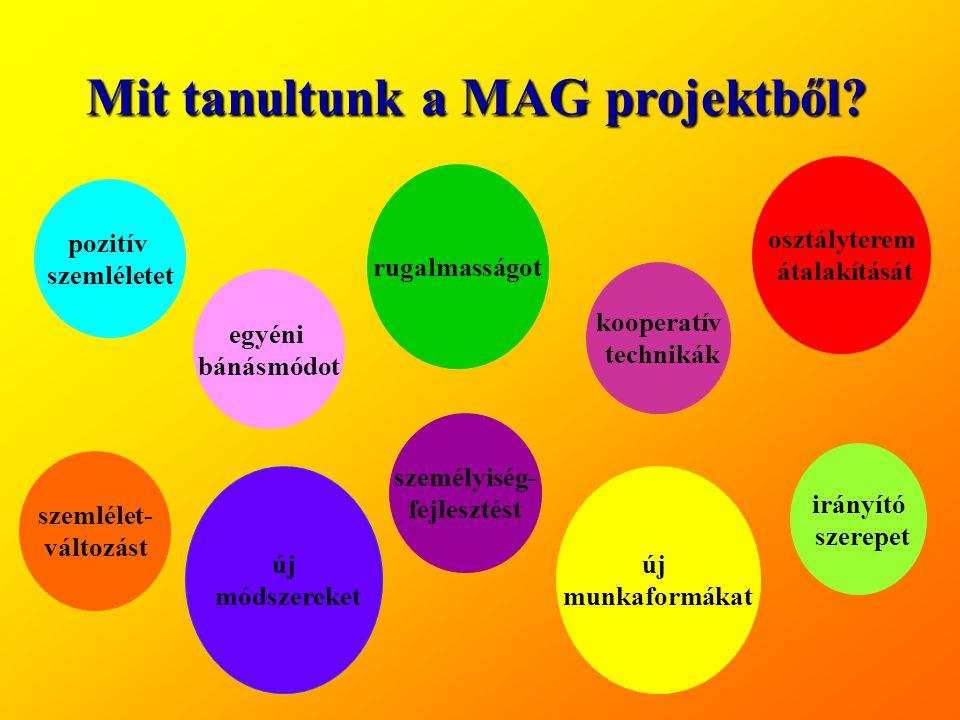 Mit tanultunk a MAG projektből
