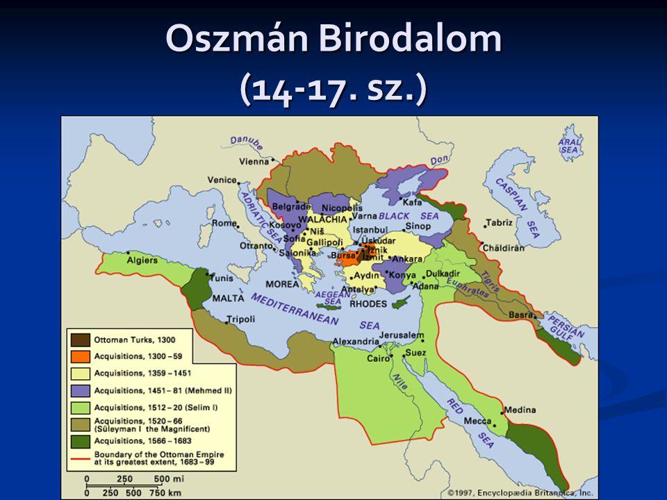 Oszmán Birodalom (14-17. sz.)