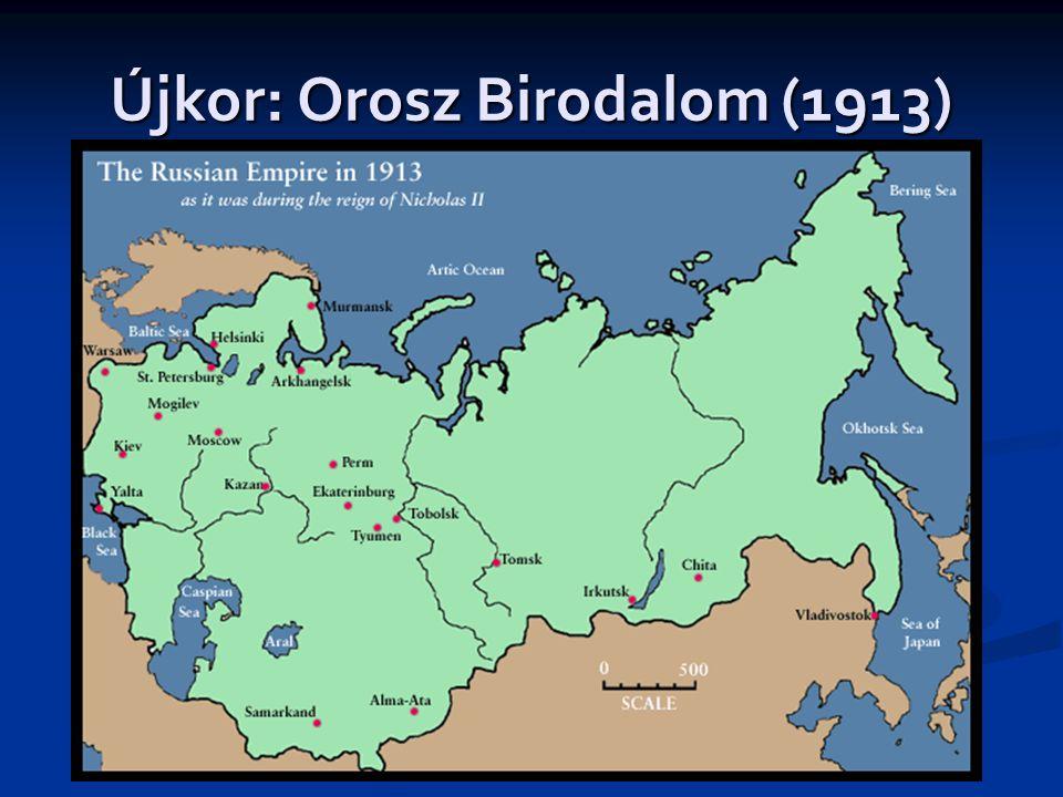 Újkor: Orosz Birodalom (1913)