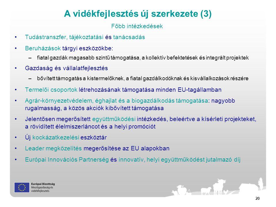 A vidékfejlesztés új szerkezete (3)