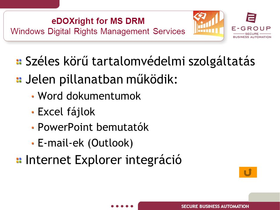 eDOXright for MS DRM Windows Digital Rights Management Services