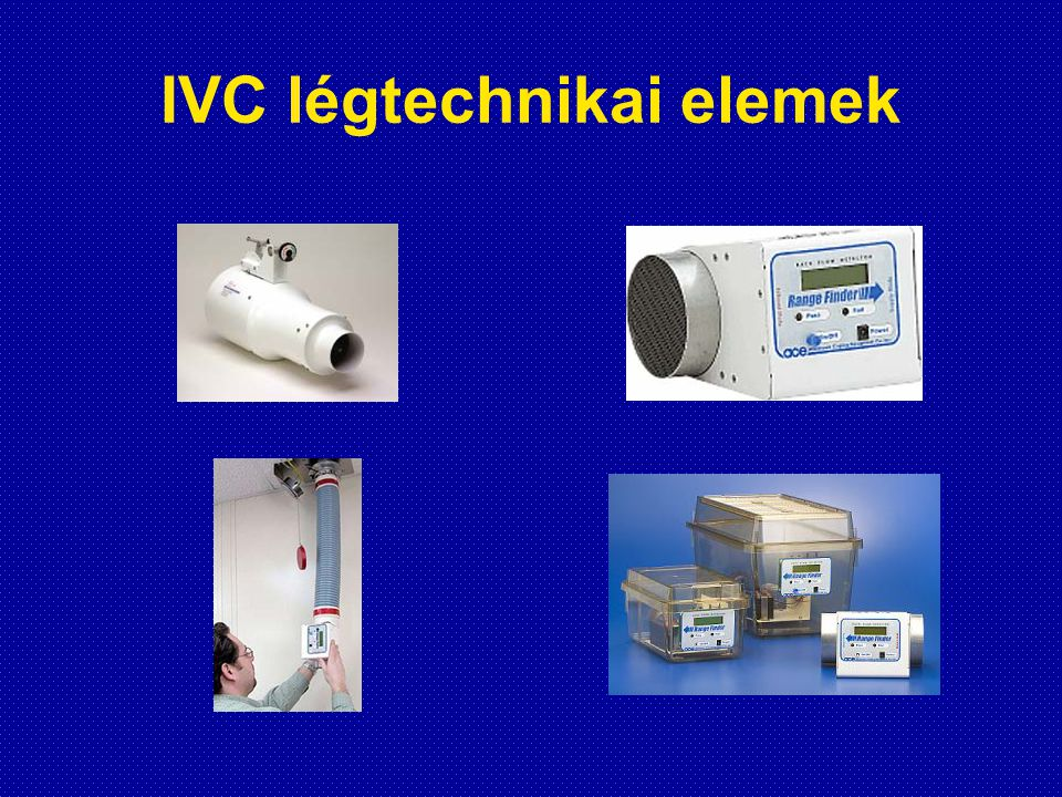 IVC légtechnikai elemek