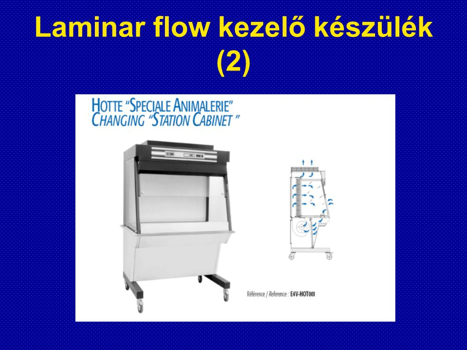 Laminar flow kezelő készülék (2)
