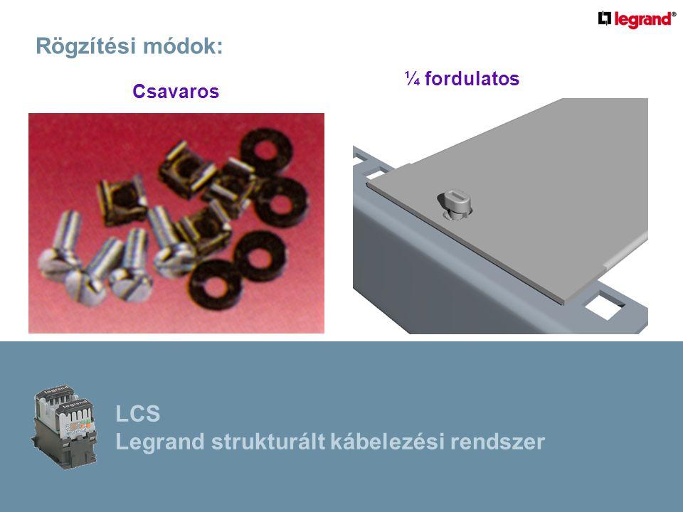 Legrand strukturált kábelezési rendszer