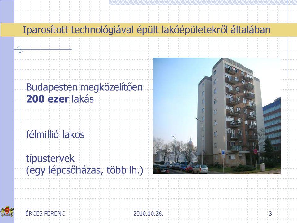 Iparosított technológiával épült lakóépületekről általában
