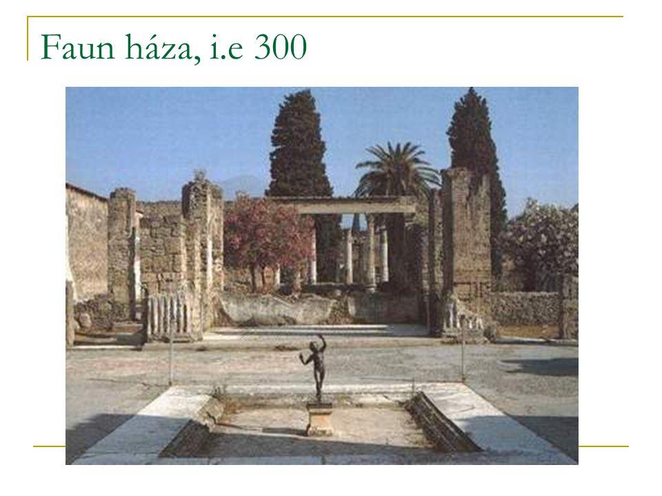 Faun háza, i.e 300