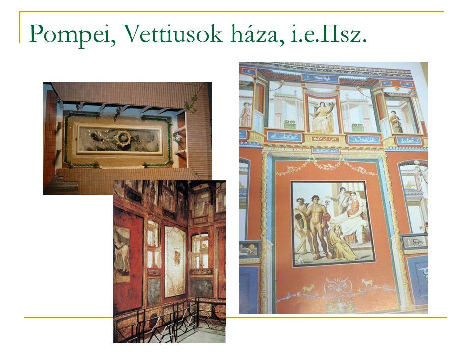 Pompei, Vettiusok háza, i.e.IIsz.