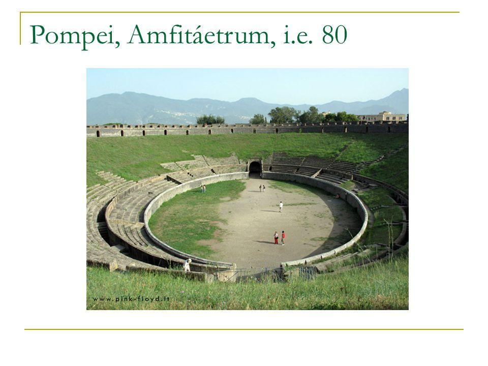 Pompei, Amfitáetrum, i.e. 80