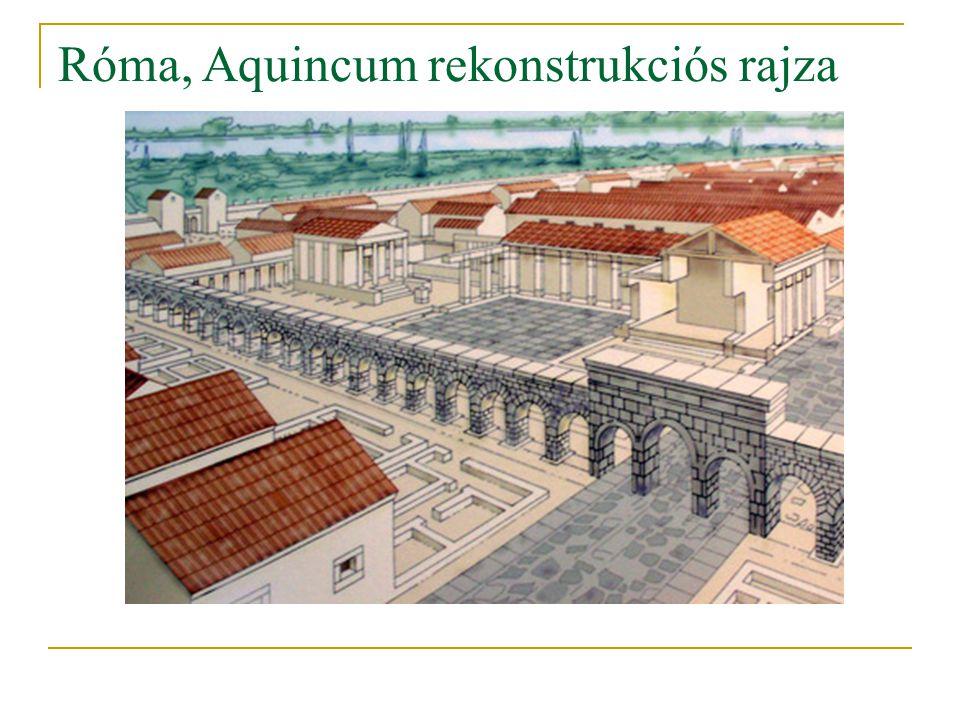 Róma, Aquincum rekonstrukciós rajza
