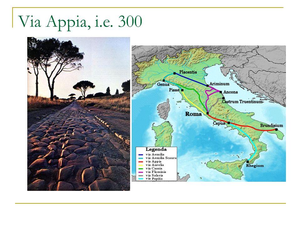 Via Appia, i.e. 300