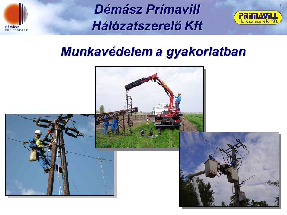 Démász Prímavill Hálózatszerelő Kft Munkavédelem a gyakorlatban