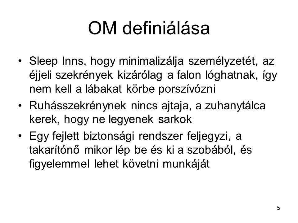 OM definiálása
