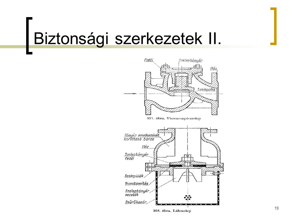 Biztonsági szerkezetek II.