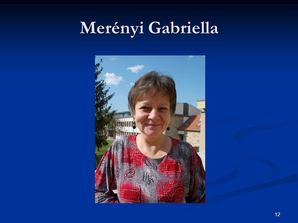 Merényi Gabriella