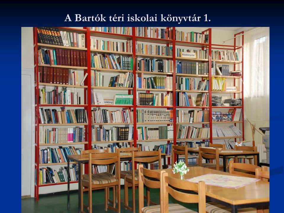 A Bartók téri iskolai könyvtár 1.