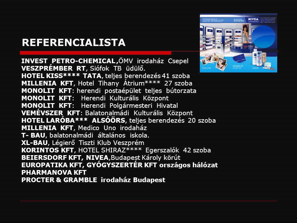 REFERENCIALISTA INVEST PETRO-CHEMICAL ,ÖMV irodaház Csepel