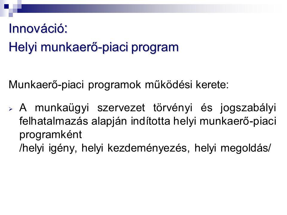 Helyi munkaerő-piaci program