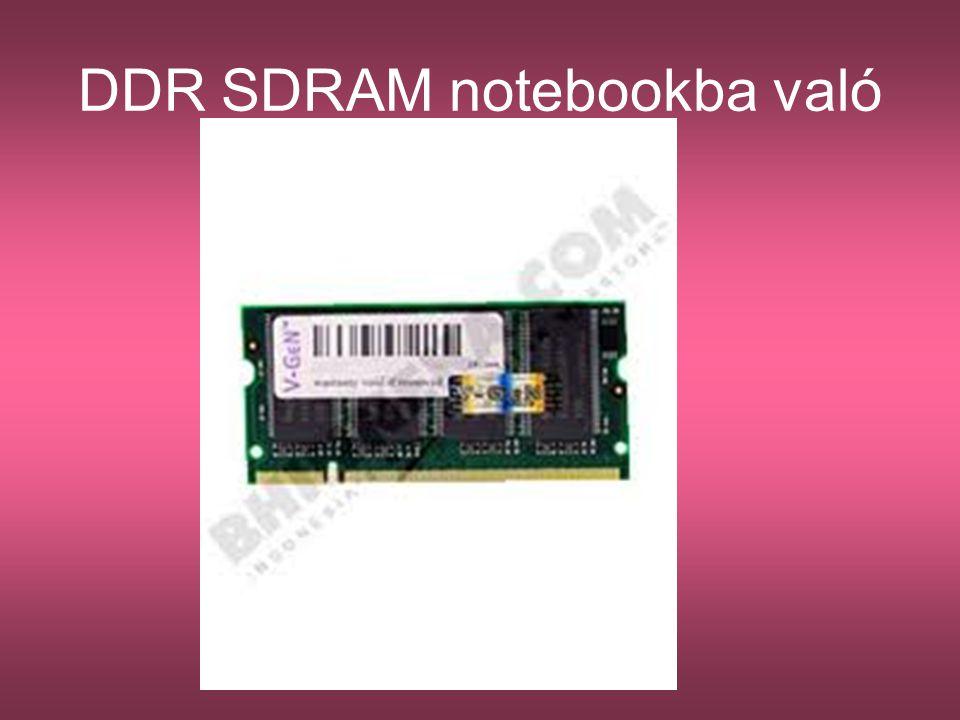 DDR SDRAM notebookba való