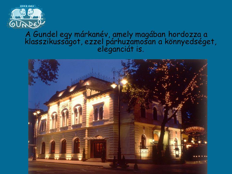 A Gundel egy márkanév, amely magában hordozza a klasszikusságot, ezzel párhuzamosan a könnyedséget, eleganciát is.