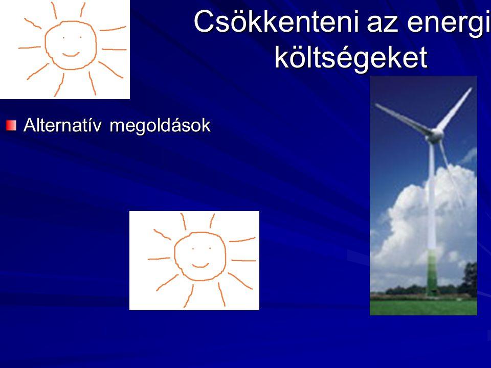 Csökkenteni az energia költségeket