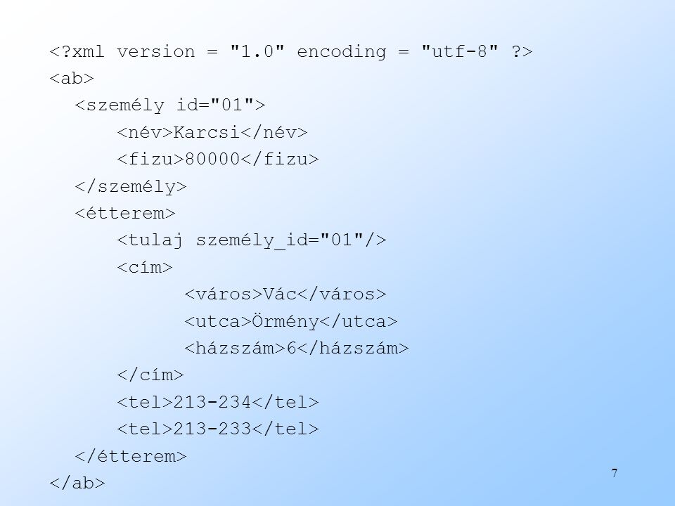 <. xml version = 1. 0 encoding = utf-8