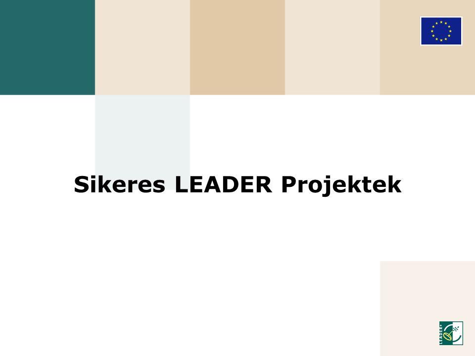 Sikeres LEADER Projektek