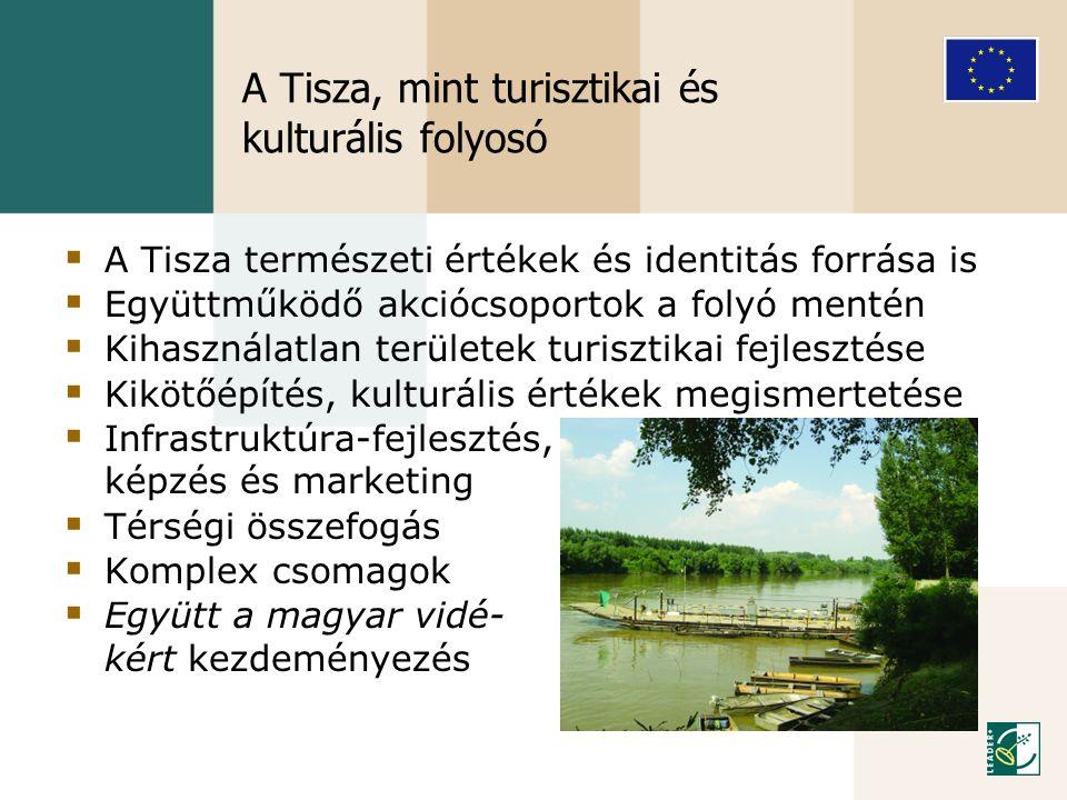 A Tisza, mint turisztikai és kulturális folyosó
