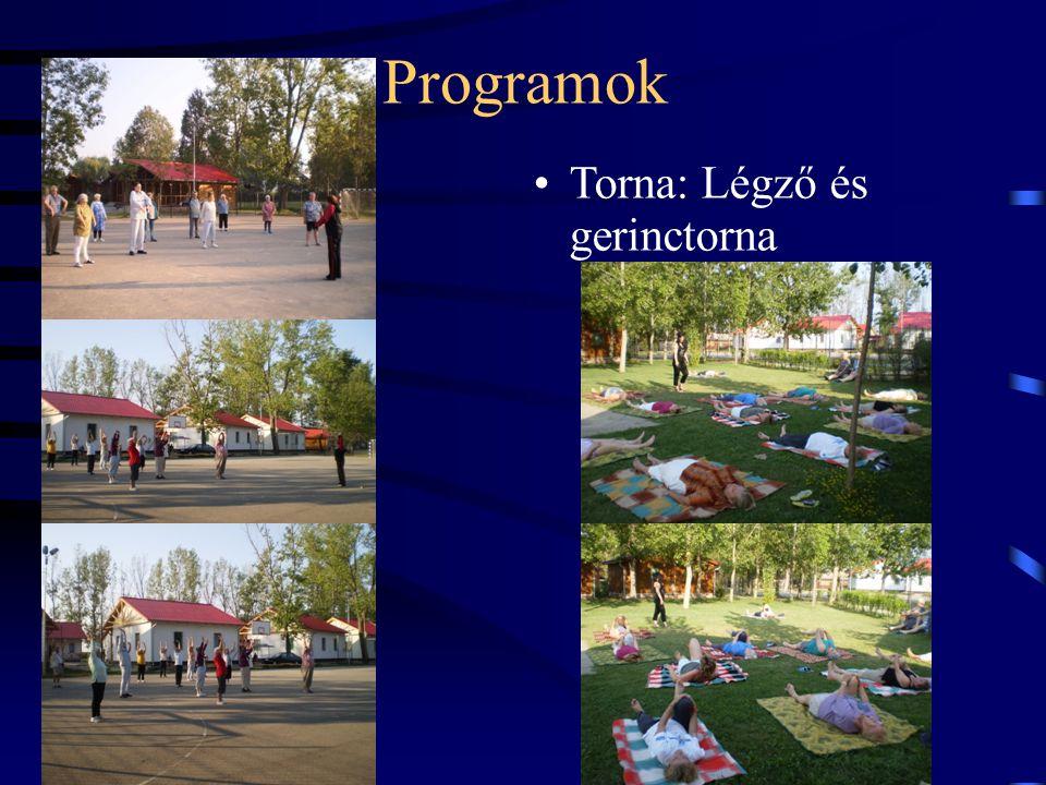 Programok Torna: Légző és gerinctorna 12