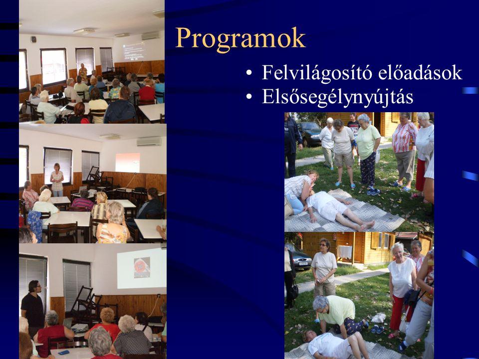 Programok Felvilágosító előadások Elsősegélynyújtás 14
