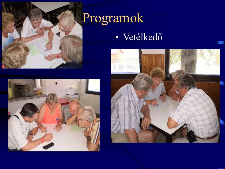 Programok Vetélkedő 16