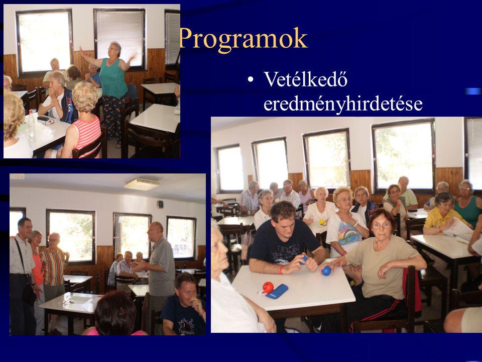 Programok Vetélkedő eredményhirdetése 17