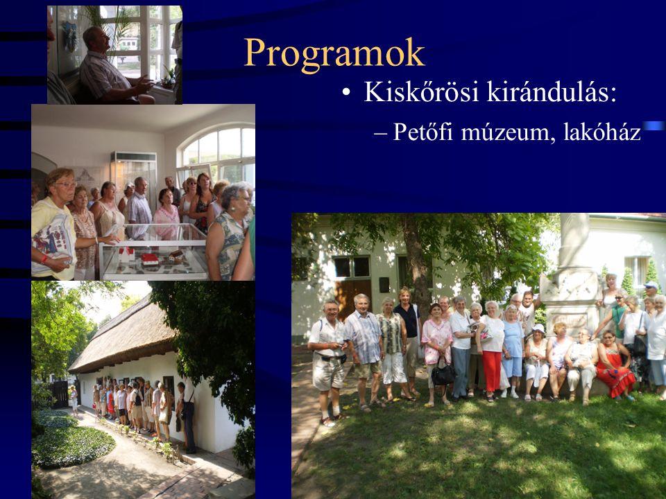 Programok Kiskőrösi kirándulás: Petőfi múzeum, lakóház 19