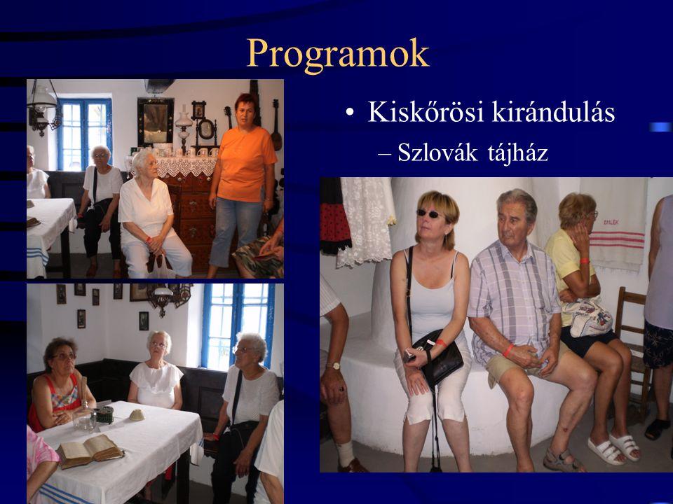 Programok Kiskőrösi kirándulás Szlovák tájház 20