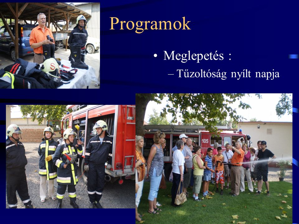 Programok Meglepetés : Tűzoltóság nyílt napja 23