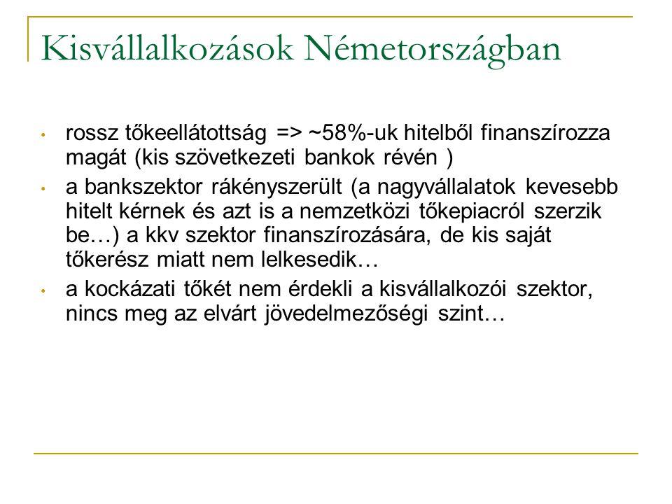 Kisvállalkozások Németországban