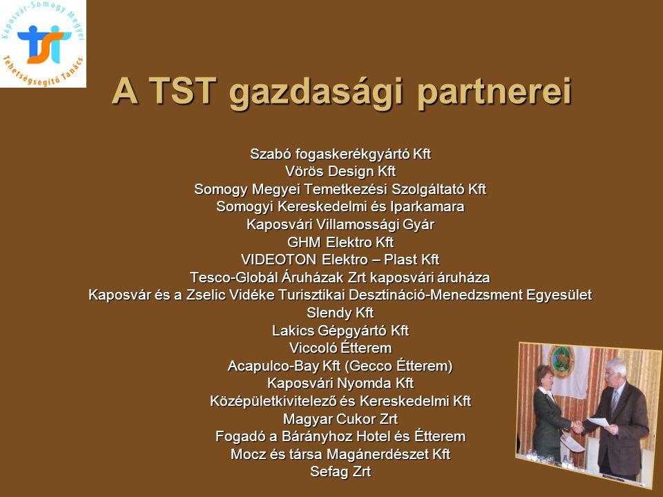 A TST gazdasági partnerei