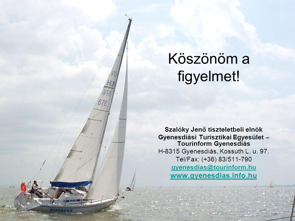 Köszönöm a figyelmet! www.gyenesdias.info.hu