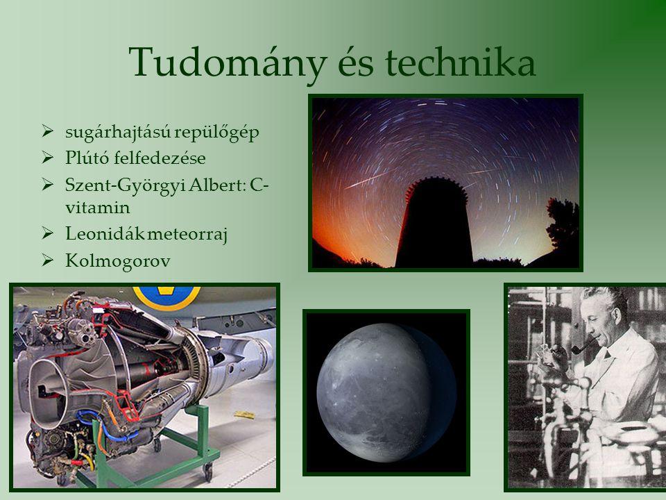 Tudomány és technika sugárhajtású repülőgép Plútó felfedezése