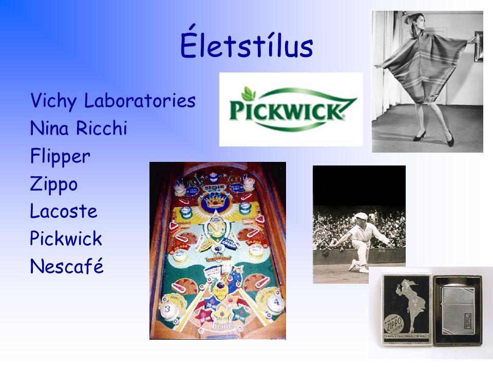 Életstílus Vichy Laboratories Nina Ricchi Flipper Zippo Lacoste