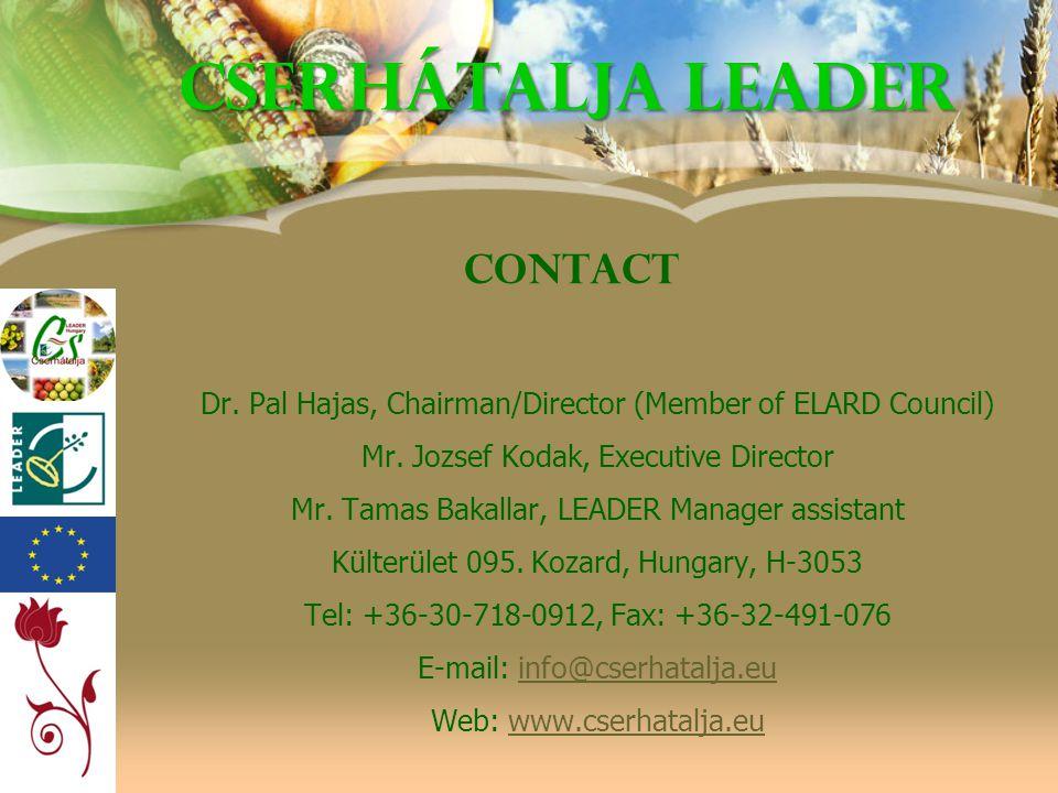 Cserhátalja LEADER Contact