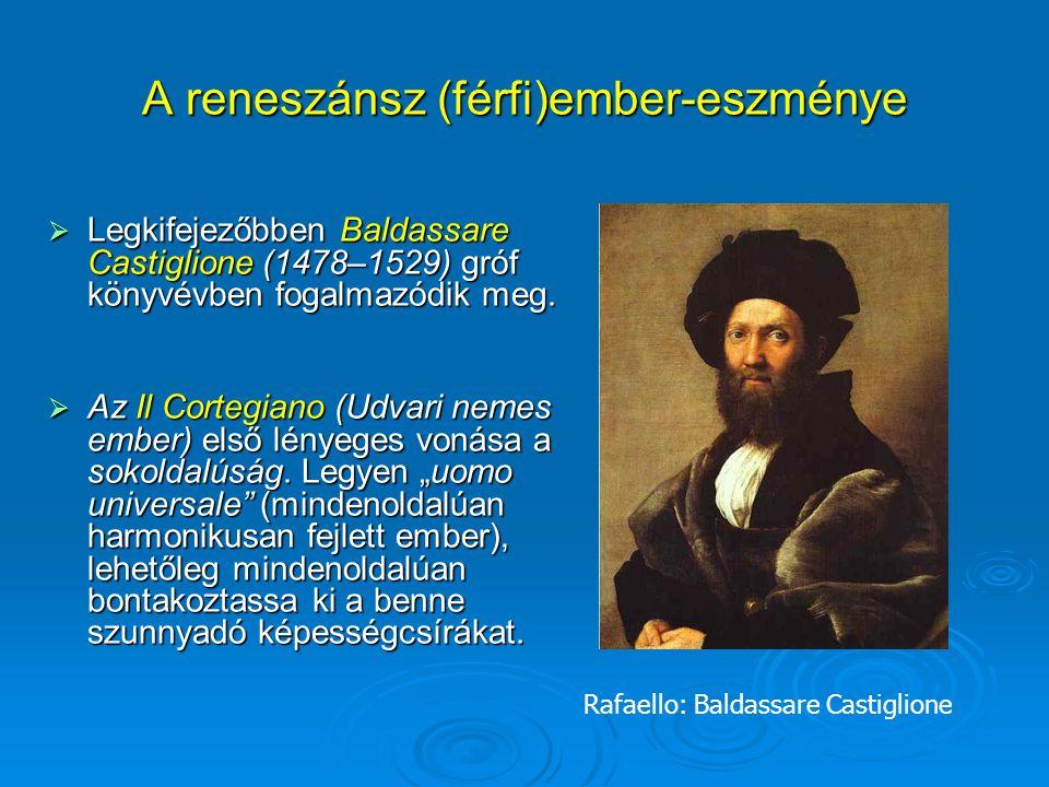 A reneszánsz (férfi)ember-eszménye